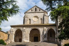 The abbey of Casamari, near Veroli, Italy