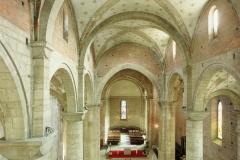 Interno della Badia di San Lorenzo a Trento