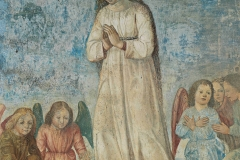 Ambrogio-da-Fossano-detto-il-Bergognone-Adorazione-del-Bambino-e-angeli.