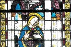 Maestro-vetraio-lombardo-su-cartone-di-Vincenzo-Foppa-Madonna-annunciata.