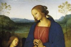 Pietro-Vannucci-detto-il-Perugino-Madonna-in-Adorazione-del-Bambino-e-angeli-1496-1499.