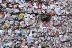 chewing gum wall of love on the wall of the House of Juliet