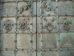 Porta bronzea della Cattedrale di Troia (FG)