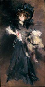 Giovanni Boldini - Madamoiselle Lanthelme
