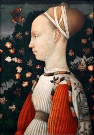 Ritratto di Ginevra d'Este - Pisanello