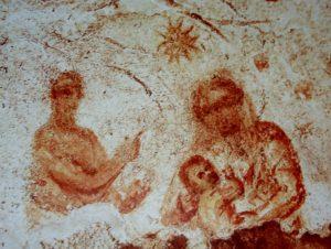 Natività delle Catacombe di Priscilla