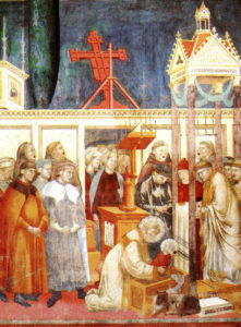 Presepe di Greccio - Basilica superiore di Assisi