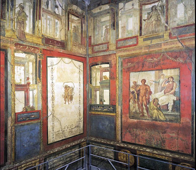 LA PITTURA POMPEIANA   Storia dell'Arte